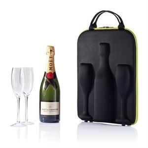 Swirl champagne of wijn tas